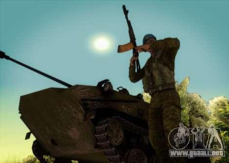 Granadero VDV para GTA San Andreas tercera pantalla
