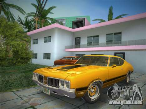 Oldsmobile 442 1970 para GTA Vice City