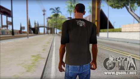 New Ecko T-Shirt para GTA San Andreas segunda pantalla