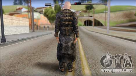 Father Martrin From Outlast para GTA San Andreas segunda pantalla