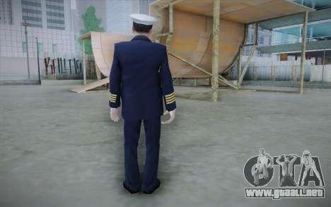 Commercial Airline Pilot from GTA IV para GTA San Andreas segunda pantalla