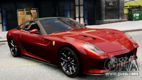 Ferrari 599 GTO para GTA 4 left
