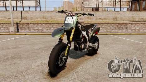 Yamaha YZF-450 v1.7 para GTA 4