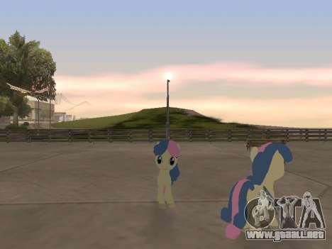 Bonbon para GTA San Andreas sucesivamente de pantalla
