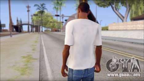 Manchester United Shirt para GTA San Andreas segunda pantalla