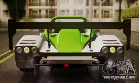 Radical SR8 Supersport 2010 para visión interna GTA San Andreas