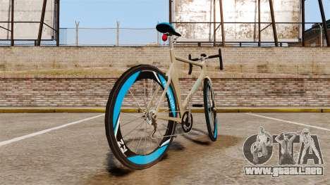 GTA V Tri-Cycles Race Bike para GTA 4 Vista posterior izquierda