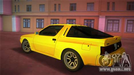 Mitsubishi Starion ESI-R 1986 para GTA Vice City left
