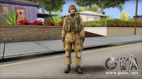 Desert Gafe Soldier Front 2 para GTA San Andreas