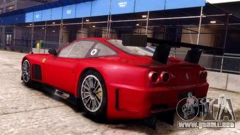 Ferrari 575 GTC para GTA 4 left