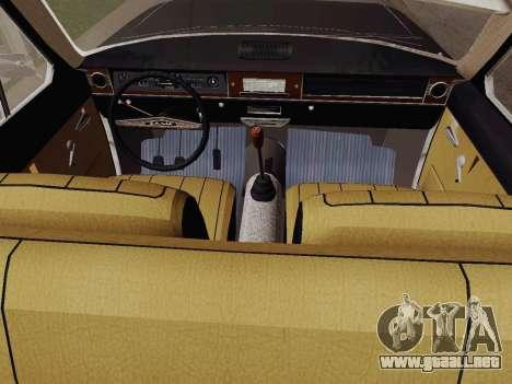 GAS 24-01 de Limusinas para la visión correcta GTA San Andreas