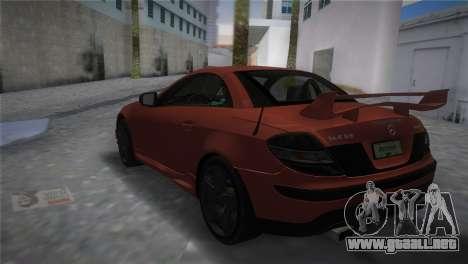 Mercedes-Benz SLK55 AMG Tuned para GTA Vice City left