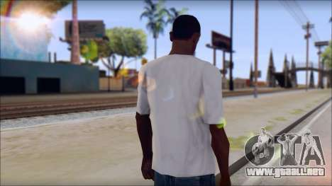 Rise Against T-Shirt V2.1 para GTA San Andreas segunda pantalla