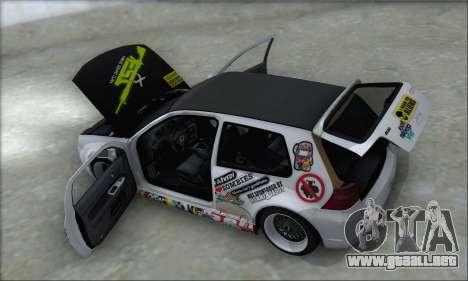 Volkswagen Golf MK4 R32 para las ruedas de GTA San Andreas