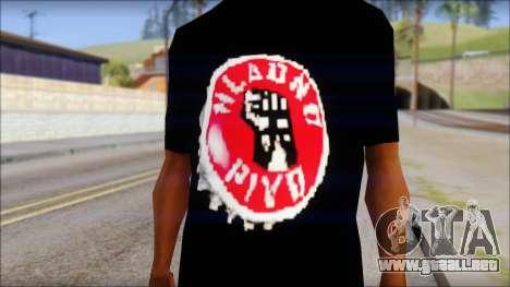 Hladno Pivo T-Shirt para GTA San Andreas tercera pantalla