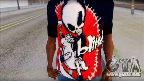 Blind Shirt para GTA San Andreas tercera pantalla