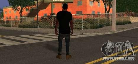 Crossfit para GTA San Andreas segunda pantalla