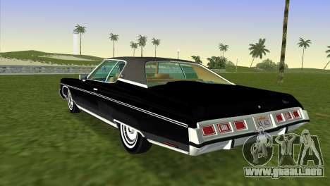 Chevrolet Caprice Classic 1973 para GTA Vice City left