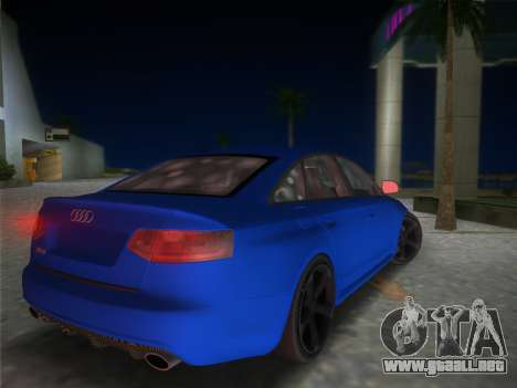 Audi RS6 para GTA Vice City left