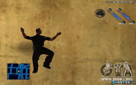 C-HUD by SampHack v.6 para GTA San Andreas tercera pantalla