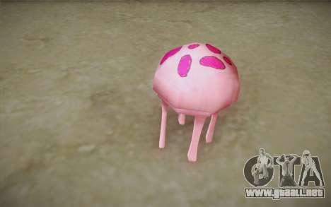 Medusa (Bob Esponja) para GTA San Andreas tercera pantalla