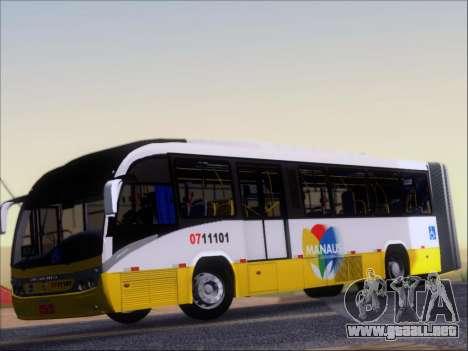 Neobus Mega BRT Volvo B12M-340M para visión interna GTA San Andreas