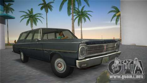 Plymouth Belvedere I Station Wagon 1965 para GTA Vice City