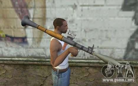 Lanzador de cohetes AG7 para GTA San Andreas tercera pantalla