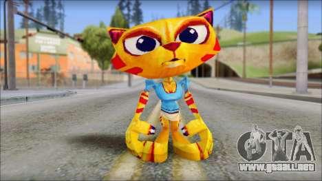 Juliette the Cat from Fur Fighters Playable para GTA San Andreas segunda pantalla