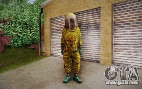 Hazmat Suit from Killing Floor para GTA San Andreas