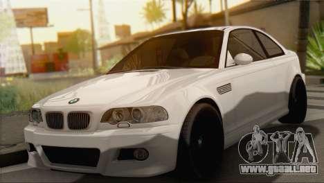 BMW M3 E46 Black Edition para GTA San Andreas