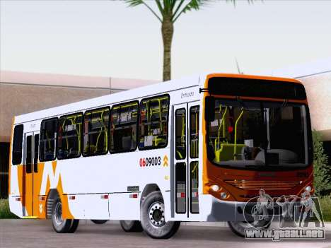 Marcopolo Torino 2007 - Mercedes-Benz OF-1418 para GTA San Andreas left