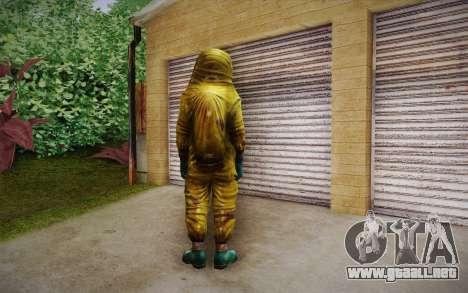 Hazmat Suit from Killing Floor para GTA San Andreas segunda pantalla