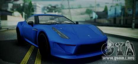 Grotti Carbonizzare from GTA 5 para GTA San Andreas