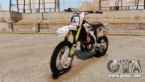 Yamaha YZF-450 v1.15 para GTA 4