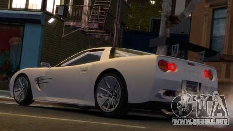 Coquette Racing para GTA 4 left