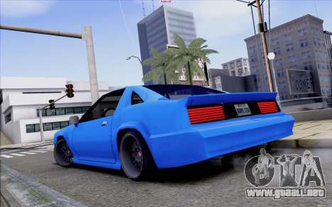 Buffalo Drift Style para GTA San Andreas vista posterior izquierda
