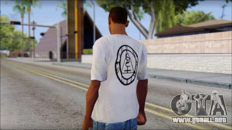 Silent Hill T-shirt para GTA San Andreas segunda pantalla