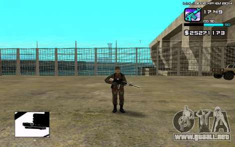 Perfect C-HUD para GTA San Andreas
