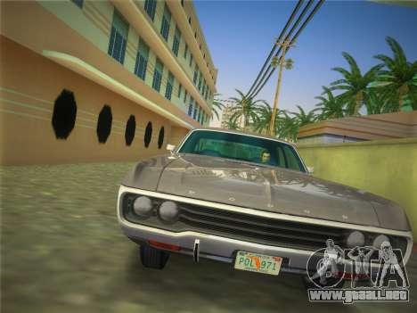 Dodge Polara 1971 para GTA Vice City vista lateral izquierdo