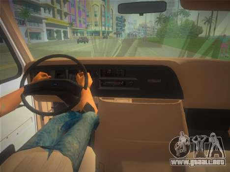 Ford E-350 1988 Cube Truck para GTA Vice City visión correcta