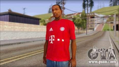 El Bayern De Munich 2013 T-Shirt para GTA San Andreas