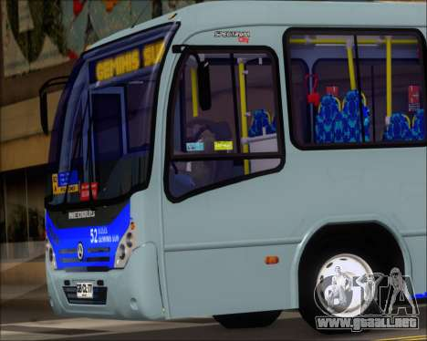 Neobus Spectrum City Mercedes Benz OF-1722 para visión interna GTA San Andreas