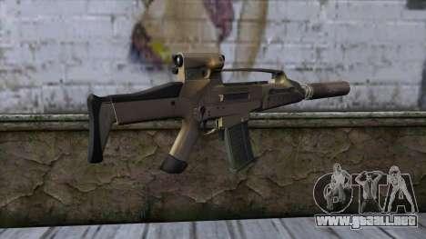 XM8 Compact Dust para GTA San Andreas segunda pantalla