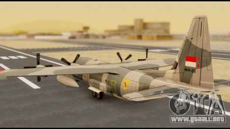 C-130 Hercules Indonesia Air Force para GTA San Andreas left