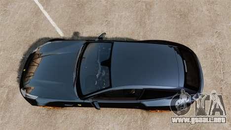 Ferrari FF 2011 para GTA 4 visión correcta