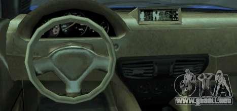 Grotti Carbonizzare from GTA 5 para GTA San Andreas vista posterior izquierda