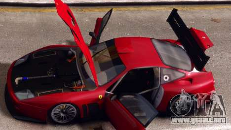 Ferrari 575 GTC para GTA 4 visión correcta