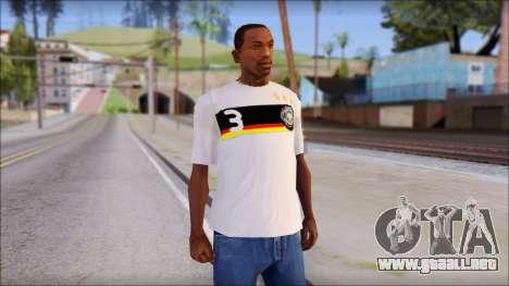 A.Friedrich Trikot T-Shirt para GTA San Andreas