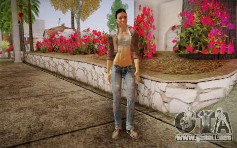 Alyx Vance CM (Adriana Lima) v.1.0 para GTA San Andreas